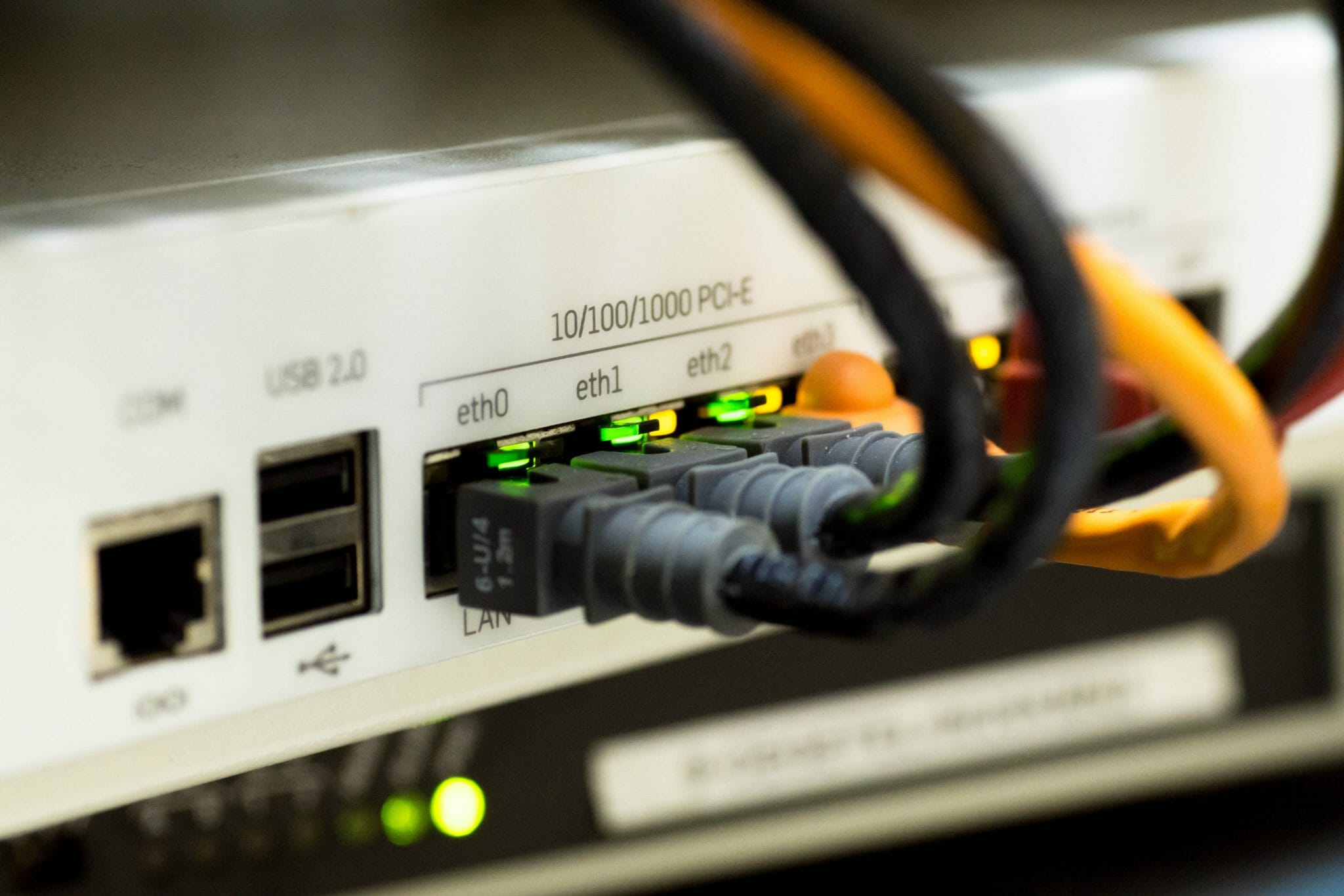Network Cable Ethernet IT Support Aurora Tech Support Leeds, Wetherby and Harrogate
