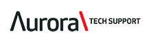 Aurora Tech Support Logo