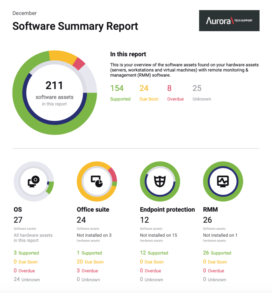 IT Infrastucture report - software